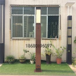 電鍍景觀燈仿雲石單頭庭院燈售樓部示範區立柱燈戶外不鏽鋼路燈
