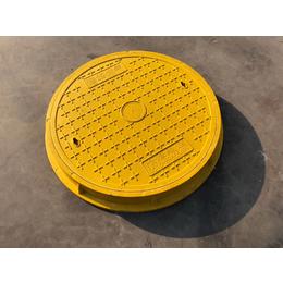 厂家直销 复合树脂圆形井盖园林绿化小区市政弱电井盖缩略图