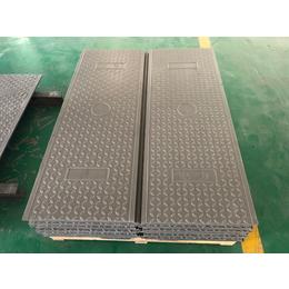 树脂扣槽盖板 卡槽电力井盖板 复合压槽电缆沟盖板缩略图