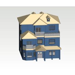 定制龙骨外墙材料型材轻钢别墅缩略图