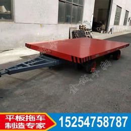 金誠非標定制15噸懸浮式平板拖車 帶減震重型平板車