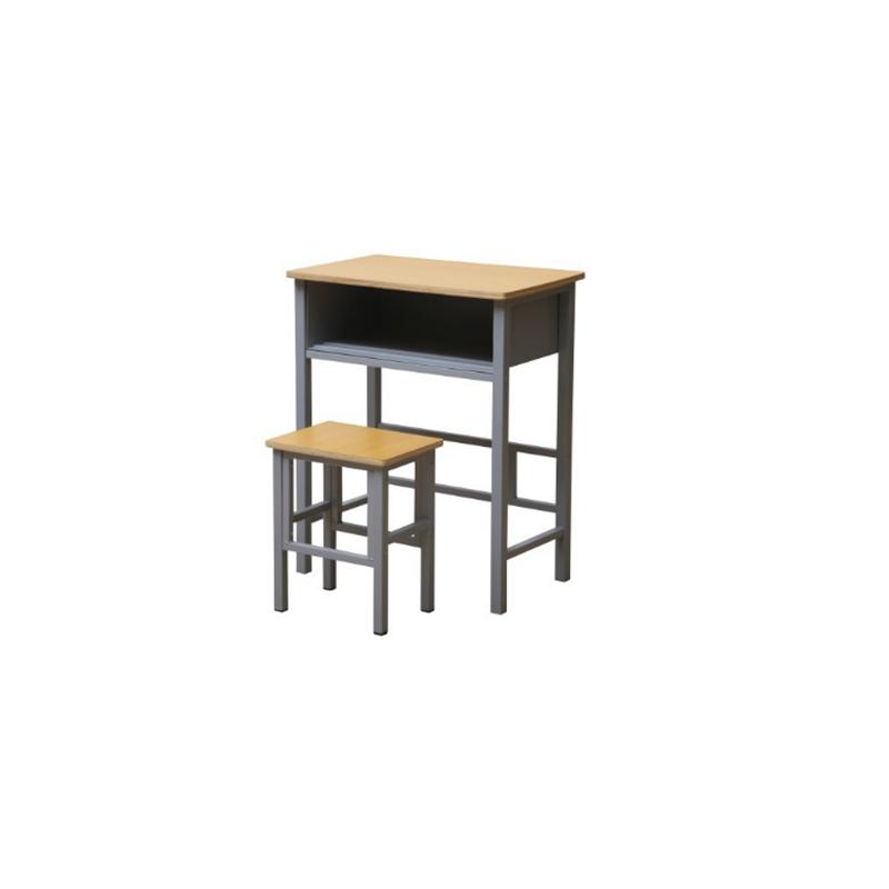中小学单人固定课桌凳