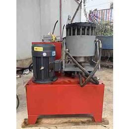 内蒙古小型压管机 电缆压扣机 铁管缩口机 液压管缩管机