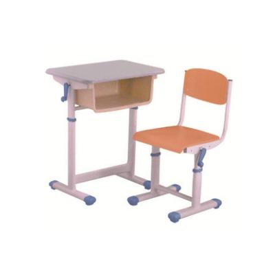 中小学单人手摇升降课桌椅