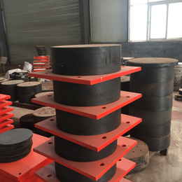 安徽巢湖 盆式橡胶支座 板式橡胶支座 四氟板橡胶减震垫块