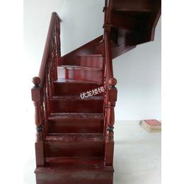 海口复式楼梯实木整梯定制-全省上门安装-价优