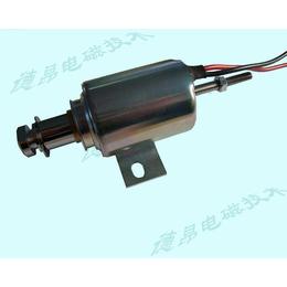 24V防水推拉式电磁铁