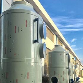 长德环保的PP喷淋洗涤塔优势有哪些?