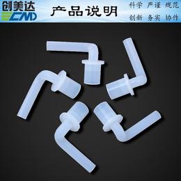 惠州硅胶配件定做防腐蚀甘肃电热水器硅胶连接出水短管优质批发商
