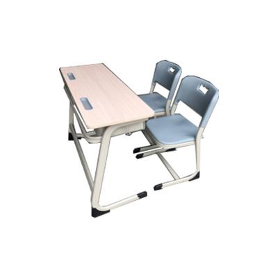 中小学双人C型单层课桌椅