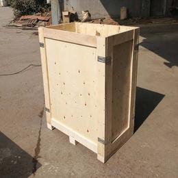 山东青岛胶南木质包装箱厂家定做胶合板包装箱  免熏蒸木箱