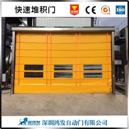 惠州隔音快速堆积门背带式快速堆积门价格