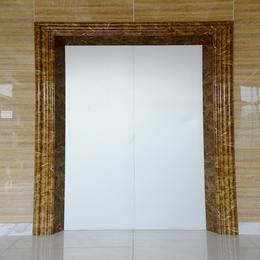 电梯包门边套_仿石材电梯门套材料工厂
