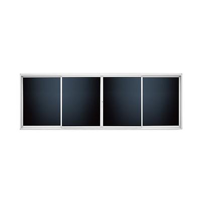 铝合金左右推拉单面液晶黑板