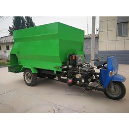 山东隆博品质保证(图)-羊场电动撒料车价格-电动撒料车
