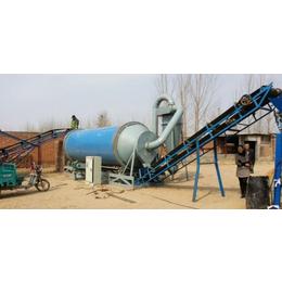 贵州三筒沙子烘干机-金茂机械生产现场-三筒沙子烘干机多少钱