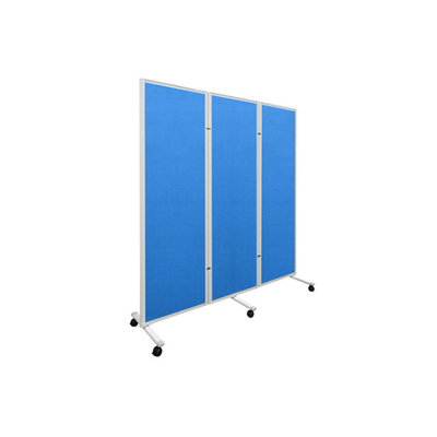 铝合金折叠双面丙纶布面蓝色