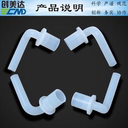 湛江硅胶配件定做耐老化阻燃广东省抽油烟机硅胶连接出水管耐压缩