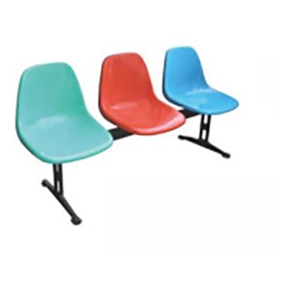 三人铝合金玻璃钢连排椅