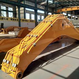挖机煤炭装卸18米加长臂 填海造地20米加长臂厂家订制