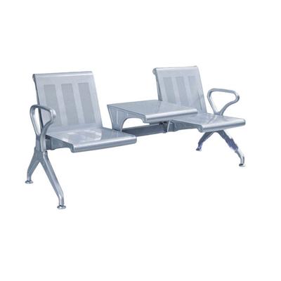 两人钢管冷轧钢板连排椅