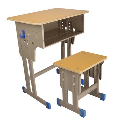 中小学双柱外升降课桌凳