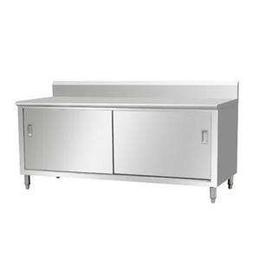 企事业精工制作不锈钢防腐防锈单通道厨房工作台缩略图