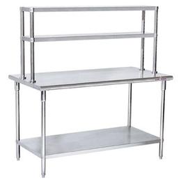双层防静电不锈钢厨房使用台直销