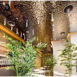 应县不锈钢板厂家不锈钢水波纹吊顶装饰板材缩略图