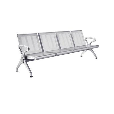 四人电镀镀铬冷轧钢板连排椅