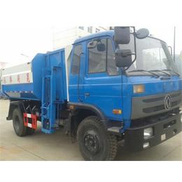 侧边挂桶3吨4吨5吨挂桶式装垃圾的车制造厂报价
