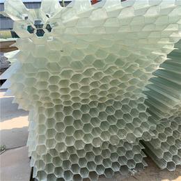 平陰縣沉淀池玻璃鋼填料 蜂窩填料市場價供應廠家