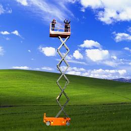 全自行升降机 自行走升降平台 高空作业车 举升机 升降车