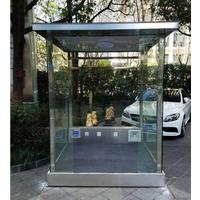 玻璃岗亭美化环境也便于作业操作