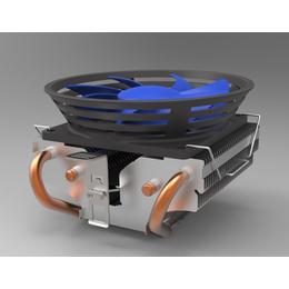 CPU吸熱電腦散熱器 寶迪凱廠家直銷批量定制銅管散熱器