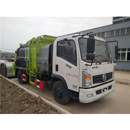 供应全密闭滴水不10吨泔水垃圾运输车
