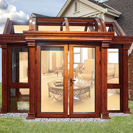 别墅欧式   阳光房露台铝合金门窗缩略图