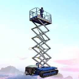 18米全自行升降机 全高度行走升降机 液压升降平台