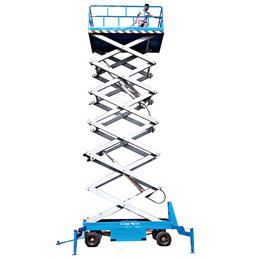 18米全自行升降机 星汉电动升降平台厂家 液压升降作业车供应
