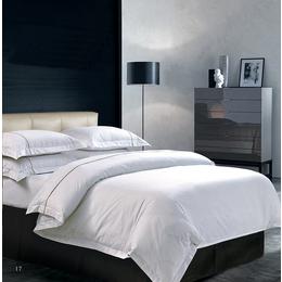 南通布草五星级酒店床上四件套 60支精梳棉床单被套纯棉四件套