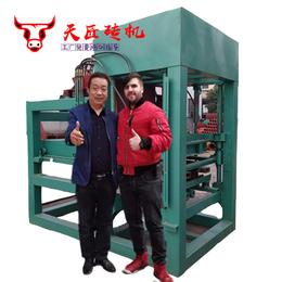 湘潭空心砖机-天匠空心砖机厂家-小型水泥空心砖机