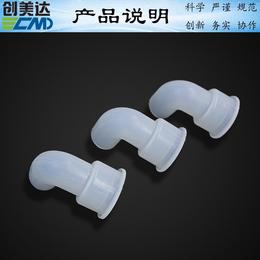 惠州吸尘器密封硅胶排气转接管质量好江门硅胶连接弯管防霉性能强