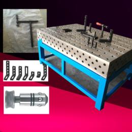 2米3米三维柔性焊接平台 D28多功能焊接平台 多孔焊接平板