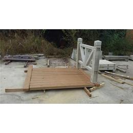 仿木护栏厂家-泰安压哲栏杆-宁德仿木护栏