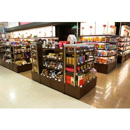 太原超市货架水果蔬菜货架商店便利店多层置物架