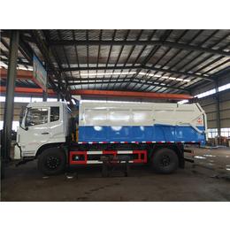 密封性好8吨污泥运输车-10吨12吨污泥转运运输车厂家