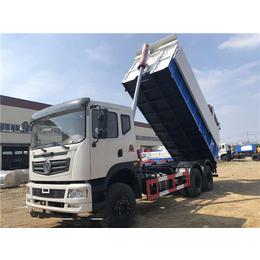 10立方自卸式污泥運輸車廠家說明  10噸污泥自卸車的說明