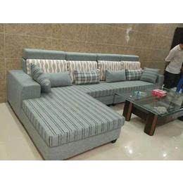 L型布艺沙发缩略图