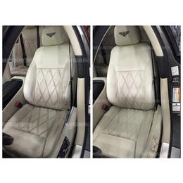汽车真皮内饰什么情况下可以修复-汽车座椅真皮塑料翻新案例