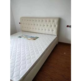 宾馆床3D椰棕环保床垫皮质床